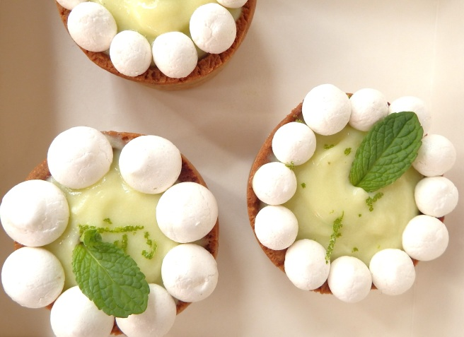 Mini-Tartes au citron vert et biscuit spéculoos