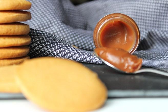 Palets bretons au caramel au beurre salé