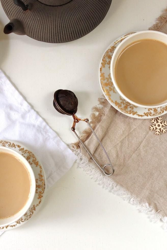 Thé Chaï latté à la crème de marrons de Madamcadamia