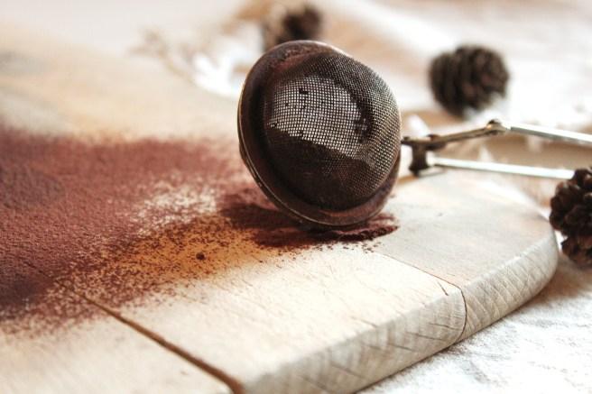 Truffes noires aux noix de macadamia salées