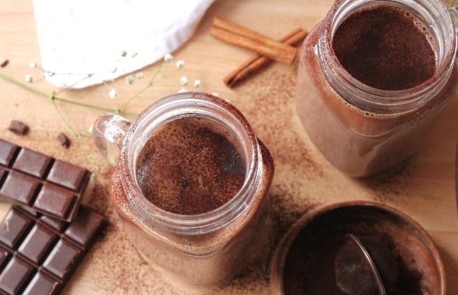 Cacao chaud aux épices d'hiver