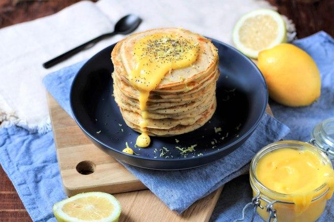 Pancakes citron et pavot