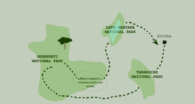 Circuit safari en Tanzani - Madamcadamia