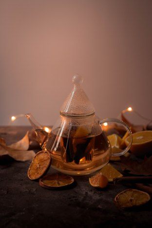 Infusion d'automne orange et cannelle - portfolio madamcadamia photography
