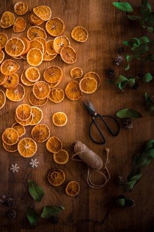 Oranges séchées de Noël , dry orange pour portfolio Madamcadamia - photography
