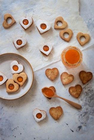 Sablés à la confiture - portfolio photographie culinaire Madamcadamia