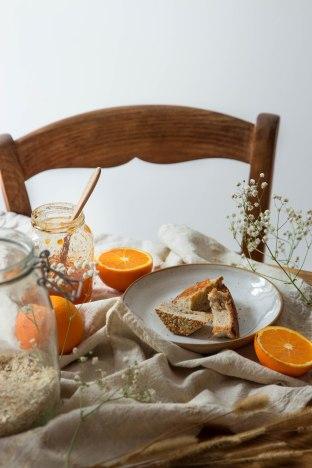Scénographie de petit déjeuner - portfolio photographie culinaire Madamcadamia