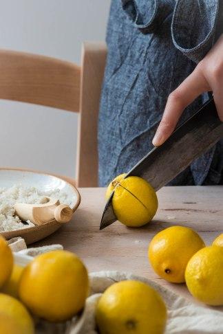Réaliser des citrons confits en saumure maison - DIY FOOD photography