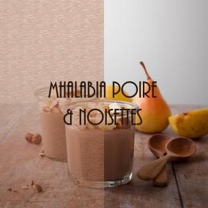 Recette de mhalabia au lait de noisette et fleur d'oranger (flan oriental)
