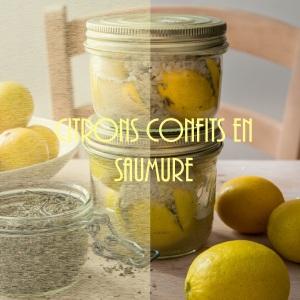 Technique de conservation de citrons en saumure