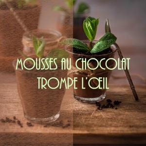 Recette de mousses au chocolat trompe-l'œil en jardinières (spécial Pâques)