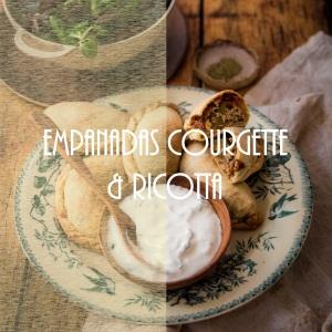 Recette d'empanadas à la courgette et ricotta