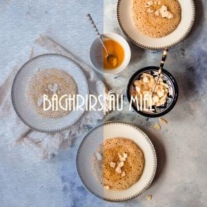 Recette de baghrirs marocains ou crêpes mille trous au miel