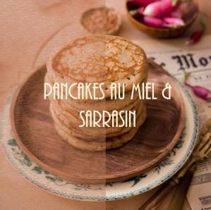 Recette de pancakes au miel et à la farine de sarrasin