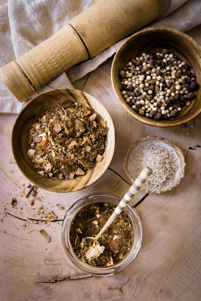 Bouillon d'épluchures de légumes en poudre - DIY food antigaspi photography