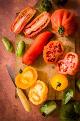 Composition de tomates - portfolio madamcadamia