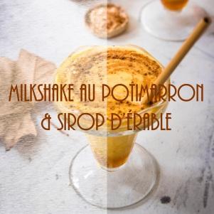 Recette de milkshake au potimarron et sirop d'érable