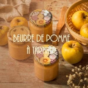 Recette de beurre de pommes - La pâte à tartiner à la pomme