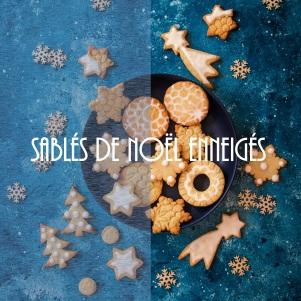 Recette de sablés de Noël facile décorés au sucre glace