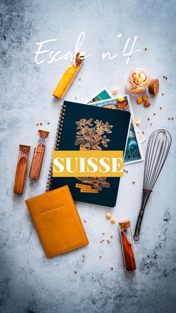 Tour du monde culinaire - Escale Suisse