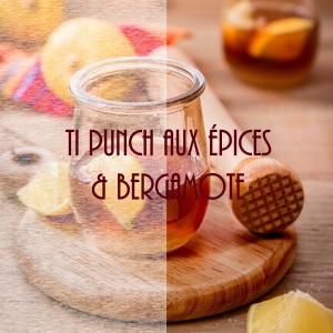 Ti punch aux épices et à la bergamote - caribbean cocktail photography