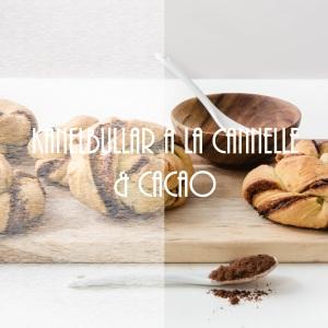 Kanelbullar à la cannelle et cacao - photography