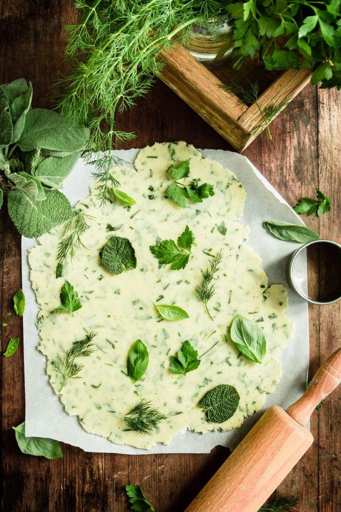 Sablés apéritif au parmesan et aromates - photography